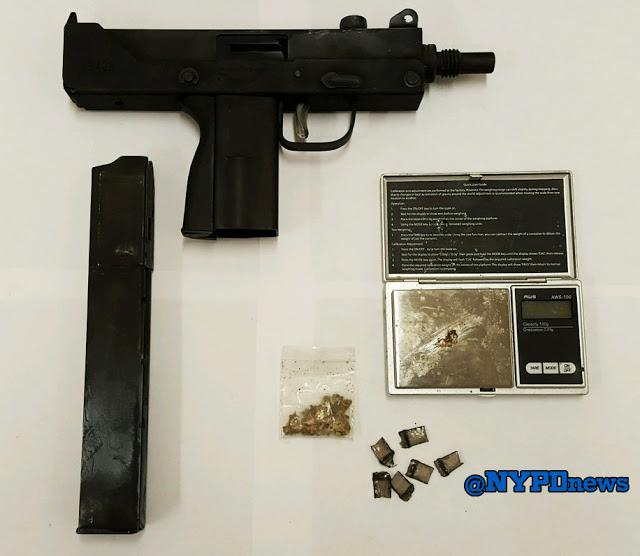 South Jamaica Cops Recover Mac-11 Machine Gun   The Forum Newsgroup
