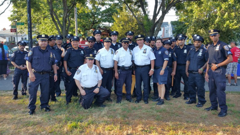 Cops and Communities Come Together for Night Out Against Crime