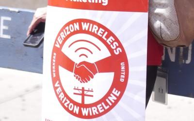 Verizon Union Rally Draws Area Pols in Support