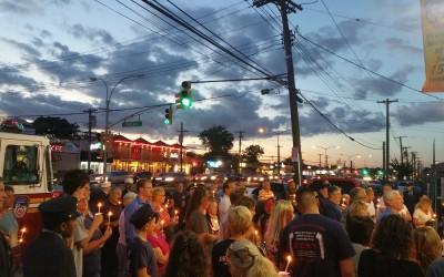 Howard Beach Unites at Cross Bay Firehouse for Sept. 11 Ceremony