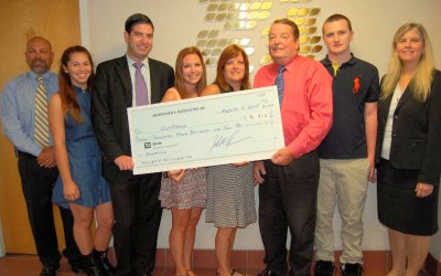 Astoria Accountant Family Donate to Program in Late Son's Name; Browers pledge to help teens with substance abuse through Outreach