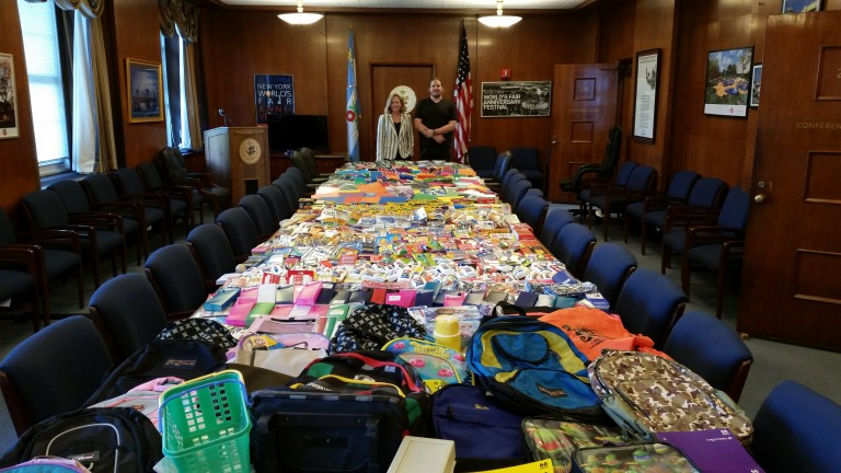 Needy Families Thrive Thanks to School Supplies Drive