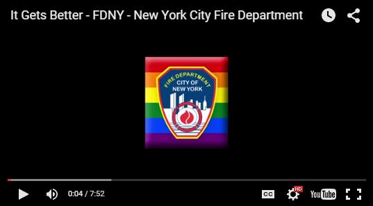 FDNY 'It Gets Better' Video Aims to Support LGBTQ Youth
