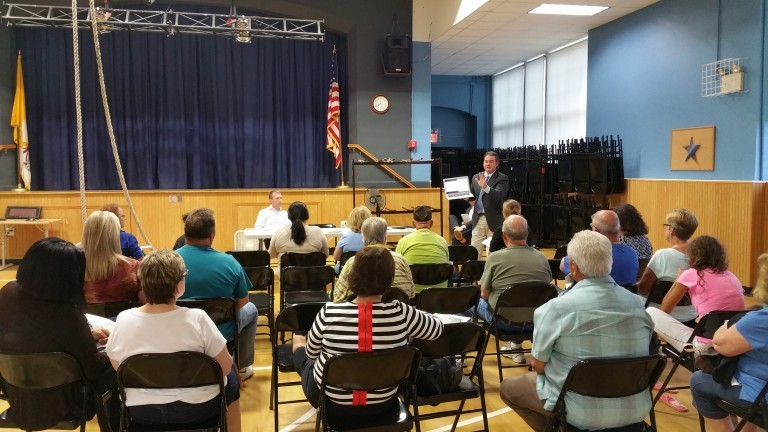 Howard Beach Homeowners Sign with Sandy Firm to Fight FEMA Fraud; Retain attorneys featured at Forum flood insurance Town Halls