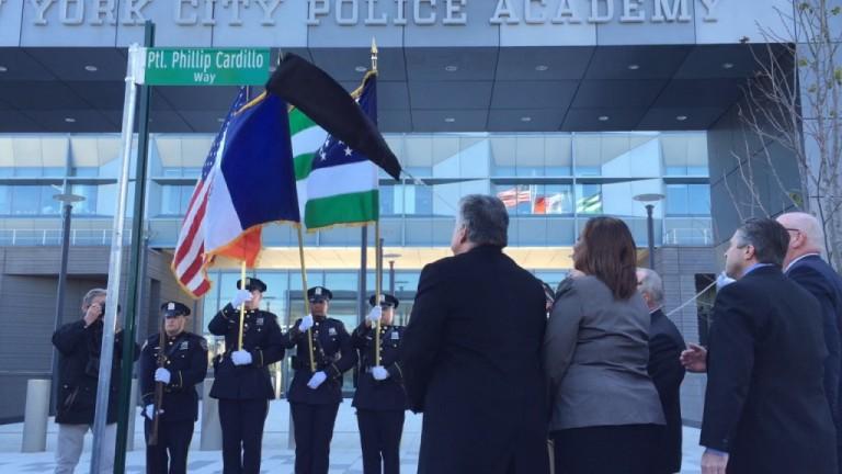 City Co-Names College Point Street in Honor of Slain Patrolman
