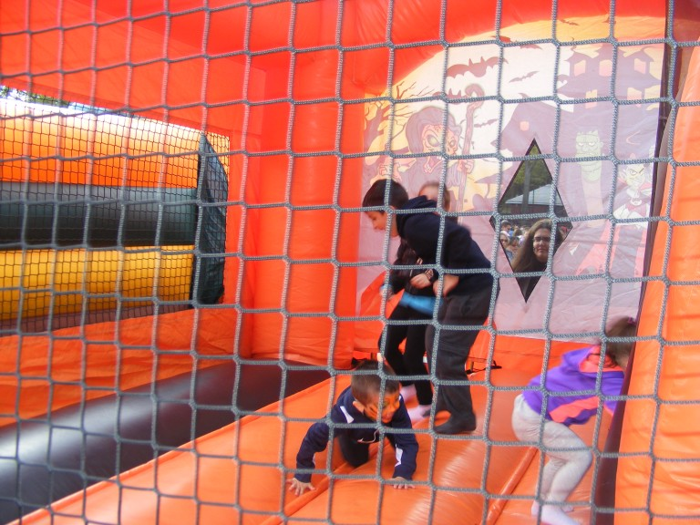 Family Fun and Games at Fall Festival in Ozone Park