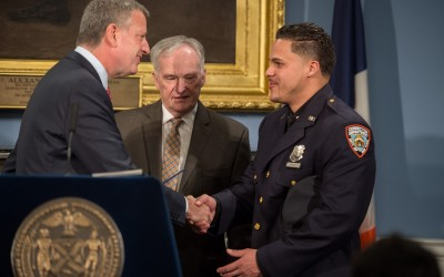 City Honors Correction Officer for Off-Duty Act of Heroism