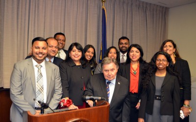 DA Brown Honors New Judge with Inaugural Diwali Award