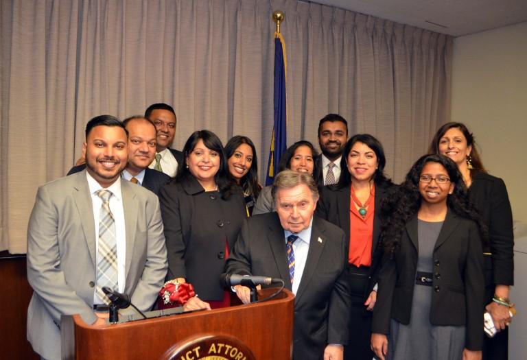 DA Brown Honors New Judge with Inaugural Diwali Award