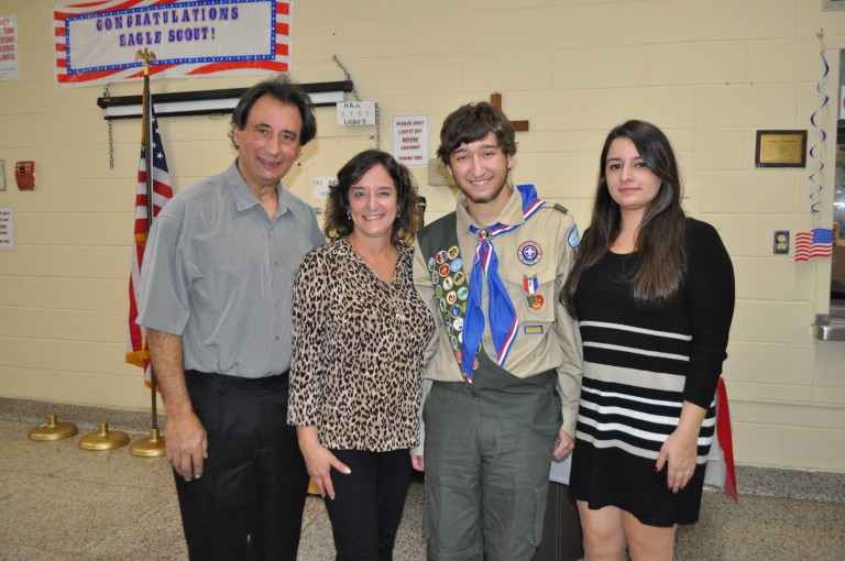Howard Beach Native Earns Eagle Scout Rank