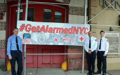 Administration, Council, Red Cross Tout #GetAlarmedNYC Fire Safety Program