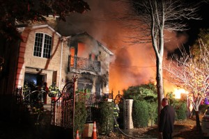 More than 140 firefighters battled the blaze on 112th Street and 68th Drive.