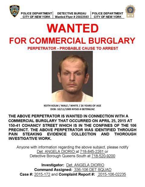 Prolific Area Burglar Surrenders to Authorities
