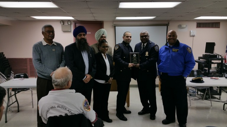 'Busy Month' Leads to Top Cop Honors for 102nd Precinct Officer