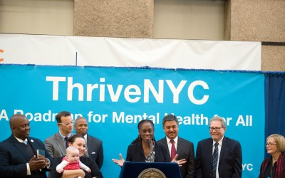 Mayor, First Lady Release 'Mental Health Roadmap'; ThriveNYC plan pledges support of mental well-being of New Yorkers