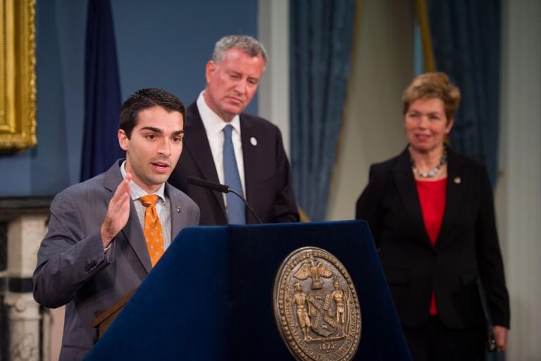 Landmark Legislation Creates City Dept. of Veterans' Services