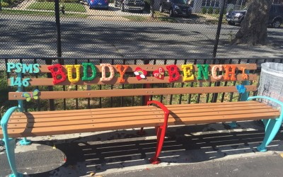 Beloved Buddy Bench a Welcome Addition this Year at PS/MS 146