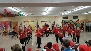 The Stanford Dance Studio heated up the Holiday Season on Tuesday at the Howard Beach-Lindenwood Civic party.