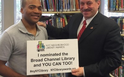 Voting Now Open for NYC Neighborhood Library Awards; Top branches receive $20,000 prize