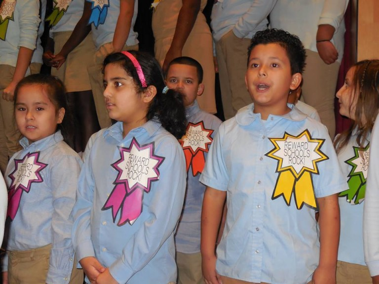 Richmond Hill School Celebrates 'Reward' Distinction