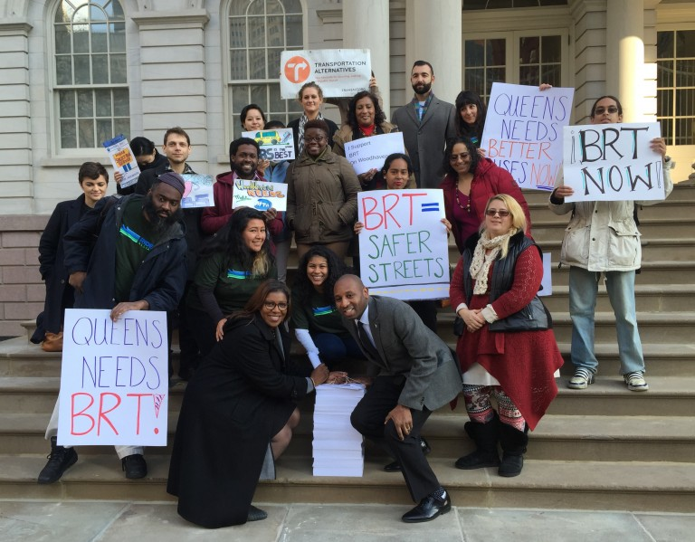 Coalition Announces Increased Community Support for Select Bus Service; Civic rips 'artificial' rally; Woodhaven 'strongly opposes' DOT plan, group says