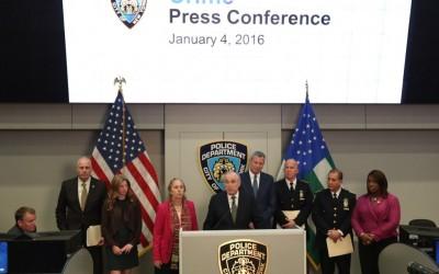 Overall Crime Down Nearly 6 Percent in de Blasio Era: Bratton