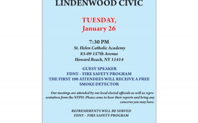 MEETING: Howard Beach-Lindenwood Civic