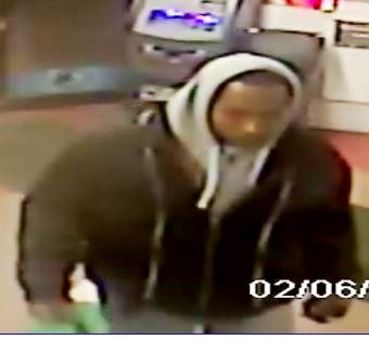 Detectives are trying to track down a man who robbed a Rockaway Boulevard deli earlier this month. Photo Courtesy of NYPD