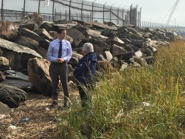 Goldfeder Calls on MTA to Clean Hamilton Beach 'Graffiti Rocks'