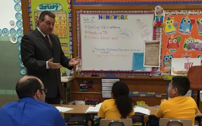 Addabbo 'Thrilled' to be SMGH Principal for a Day
