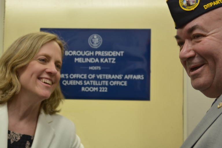 City Sets up Satellite Veterans' Affairs Office at Borough Hall
