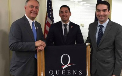 Ulrich Touts Queens College Veterans Support Office