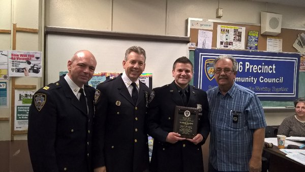 Cop of the Month Uses Smartphone to App-rehend Assailant