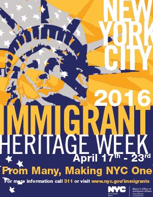 Immigrant Heritage Week Sets up Launch of NYCitizenship Services