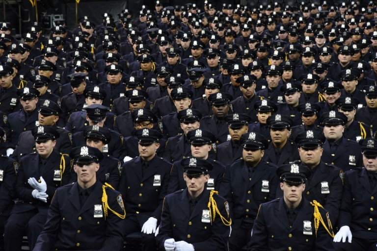 Bratton Hails Highly Trained Graduating Class of New Officers