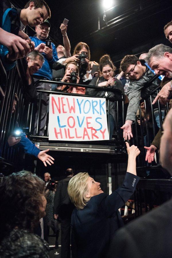 Trump Trounces, Clinton Cruises in New York Primaries