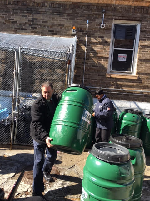 Pols Sponsor Upcoming Rain Barrel Giveaways in Broad Channel, Howard Beach