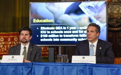 Cuomo Heralds Passage of 'Groundbreaking' State Budget