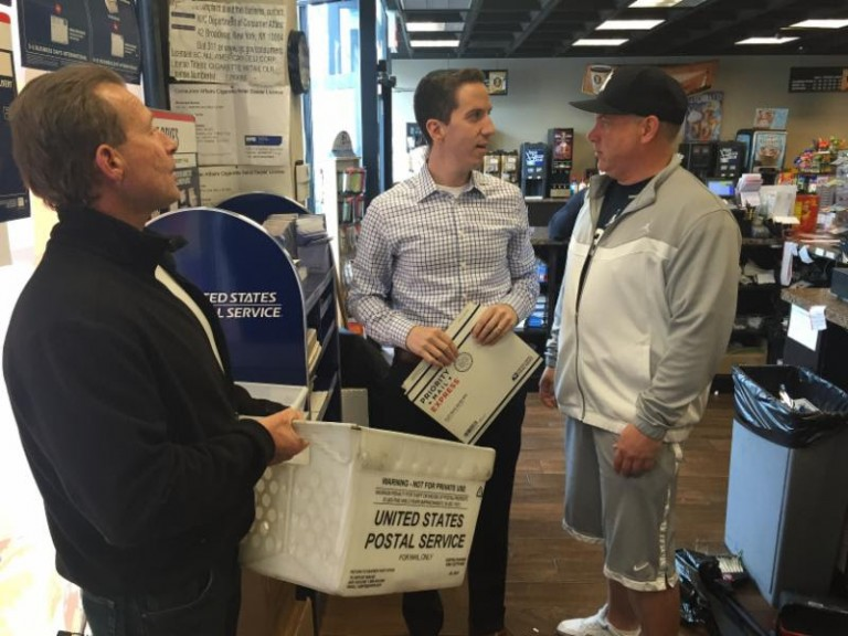 Postal Service Returns to Broad Channel