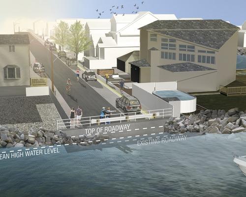 Katz Praises Progress of Broad Channel Street Raising Project