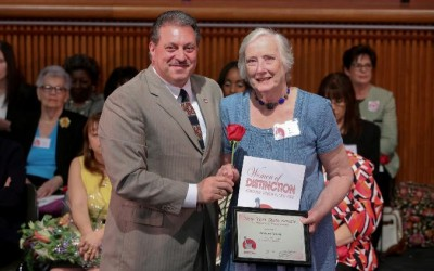 Addabbo Honors Broad Channel's Toborg as 'Woman of Distinction'