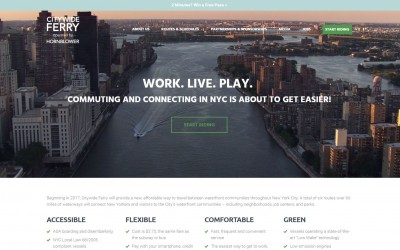EDC and Ferry Operator Launch CitywideFerry.NYC