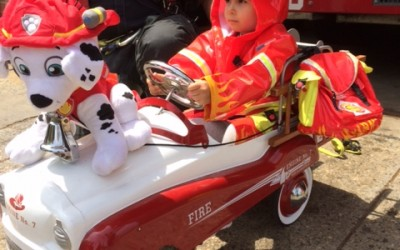 Children Cherish FDNY Open House Day