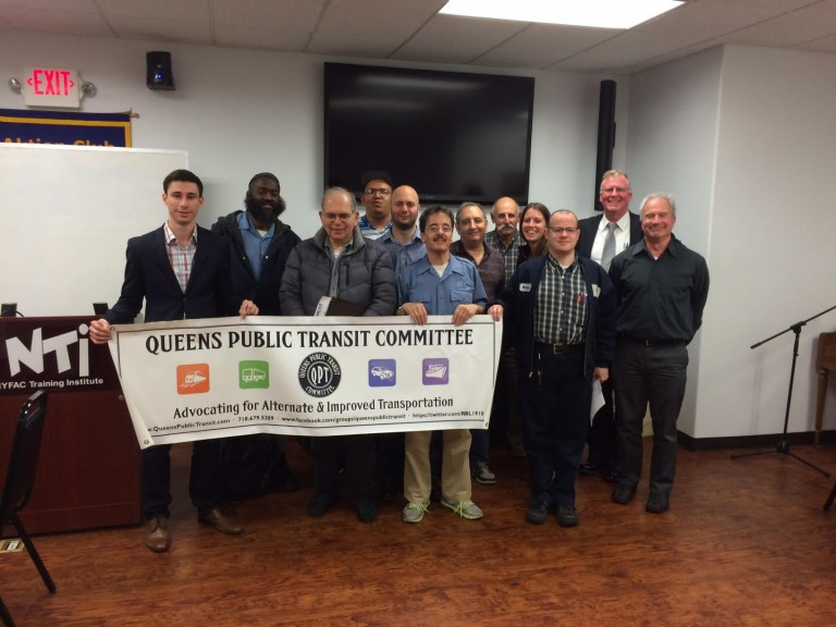 QueensRail is Hot Topic at Public Transit Civic Meeting