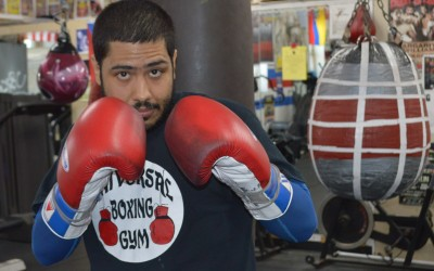 Local Boxer Fights for Fitness