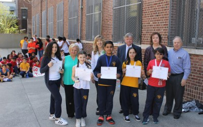 Budding Scribes Praised at Woodhaven Poetry Contest