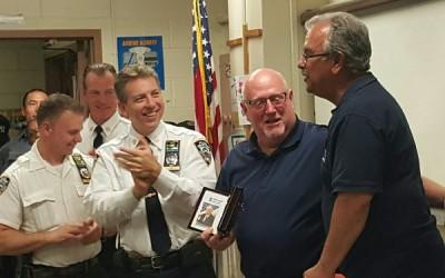 Longtime Community Affairs Det. Kenny Zorn retires
