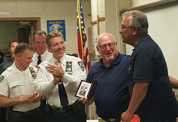 Longtime Community Affairs Det. Kenny Zorn retires