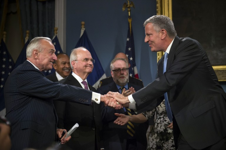 Criminal Justice Reform Act is about Appropriate Enforcement: de Blasio; Mayor signs package of polarizing bills into law