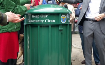 More High-End DSNY Litter Baskets Coming to Ulrich District